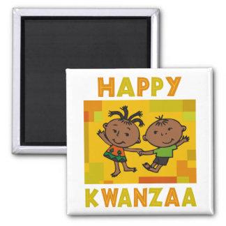 Kwanzaa feliz imán para frigorifico