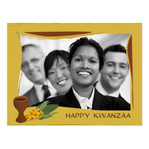 Kwanzaa feliz postales