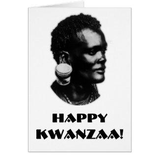 ¡Kwanzaa feliz! Felicitaciones