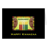 Kwanzaa feliz tarjeta de felicitación