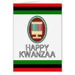 Kwanzaa feliz tarjetas