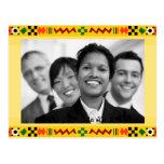 Kwanzaa feliz tarjetas postales