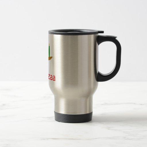 Kwanzaa feliz tazas de café