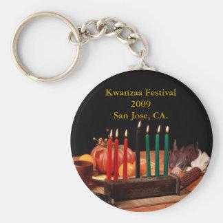 Kwanzaa Festival 2009 ... Basic Round Button Keychain