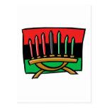 Kwanzaa Flag Postcard