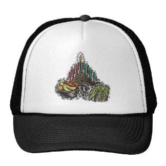 Kwanzaa Food Trucker Hat