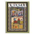 Kwanzaa - Fruits and vegetables Postcard