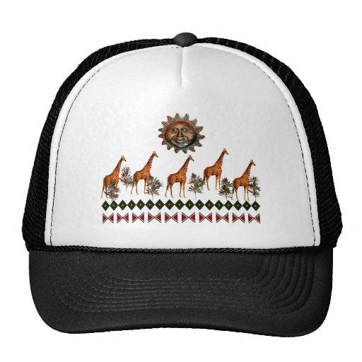 Kwanzaa Giraffes Trucker Hat