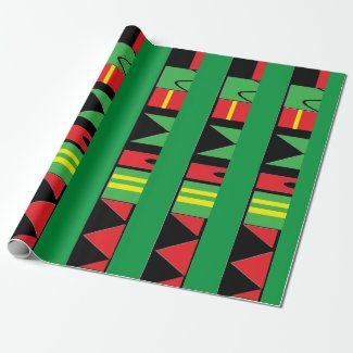Kwanzaa II Wrapping Paper