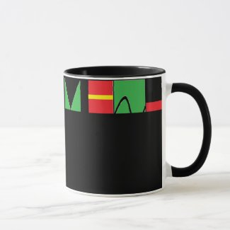 Kwanzaa Inspired Coffee Mug