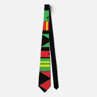 Kwanzaa Inspired Neck Tie