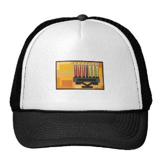 Kwanzaa Kinara Trucker Hat