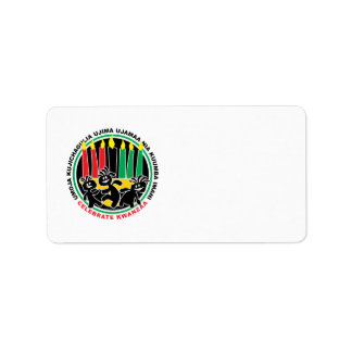 Kwanzaa Label