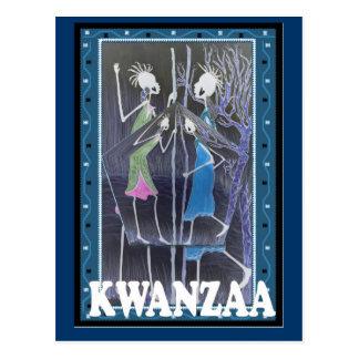 Kwanzaa - ladies' meeting postcard