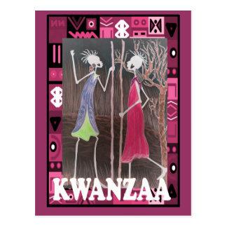 Kwanzaa - Ladies meeting Postcard