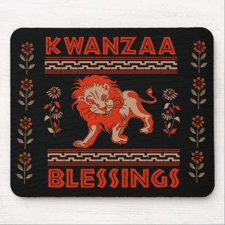Kwanzaa Lion Mouse Pad