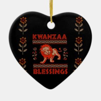 Kwanzaa Lion Christmas Tree Ornament