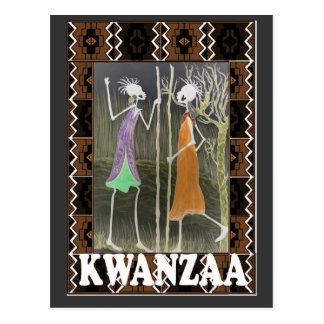 Kwanzaa - Meeting place Postcard