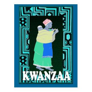 Kwanzaa - Mother and child Postcard