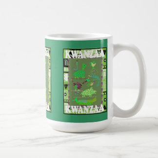 Kwanzaa mug ,Animals of Africa