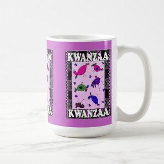 Kwanzaa mug , Bush birds