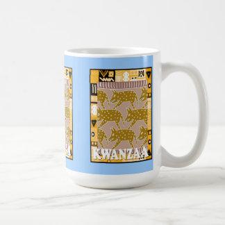 Kwanzaa mug , Carrying the shopping