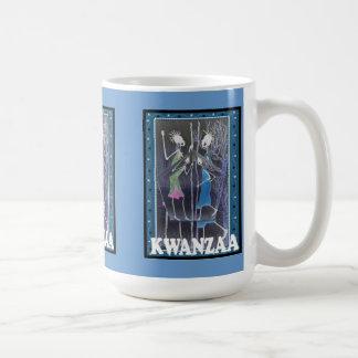 Kwanzaa mug , Meeting of ladies