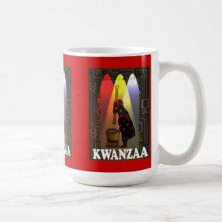 Kwanzaa mug ,Preparing food