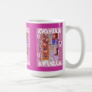 Kwanzaa mug ,Traditional artwork
