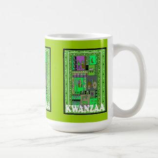 Kwanzaa mug ,Village life