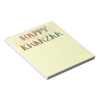 Kwanzaa Notepad