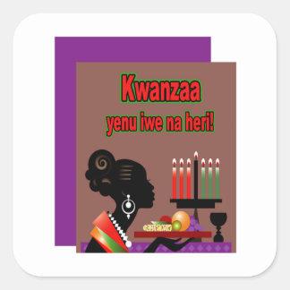 Kwanzaa Offering Kwanzaa Holiday Stickers