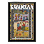 Kwanzaa, parada del mercado felicitacion