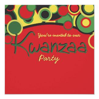 Kwanzaa Party Invitations
