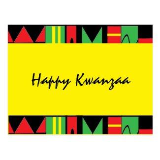 Kwanzaa Postcard