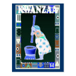 Kwanzaa -pounding mealies post card