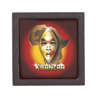 Kwanzaa Premium Jewelry Box