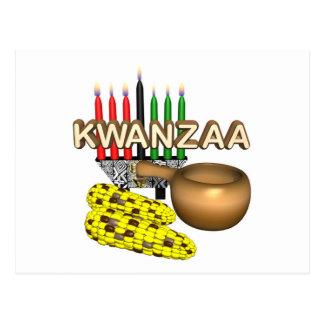 Kwanzaa Purpose Holiday Postcard