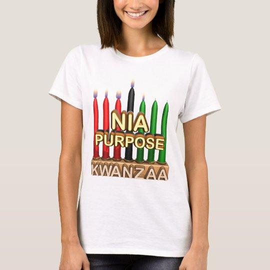 Kwanzaa Purpose Holiday T-Shirt