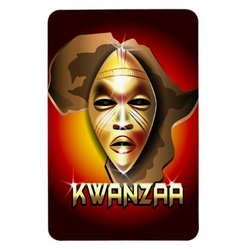 Kwanzaa Rectangular Photo Magnet
