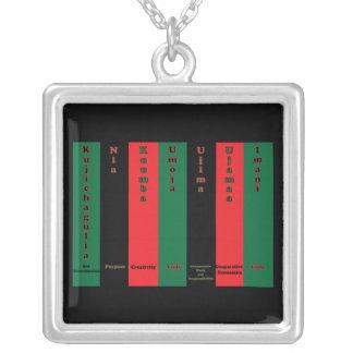 Kwanzaa Seven Principles Necklace