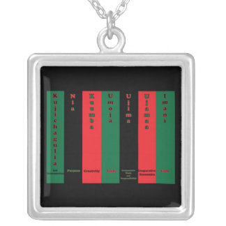 Kwanzaa Seven Principles Necklace