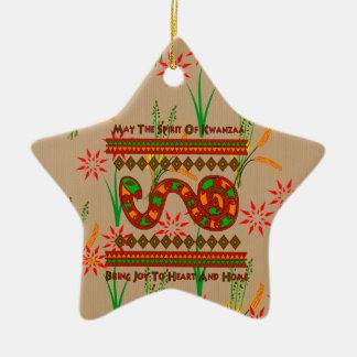 Kwanzaa Snake Christmas Tree Ornament
