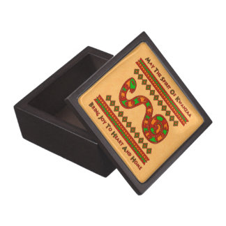 Kwanzaa Snake Premium Gift Boxes
