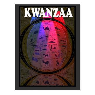 Kwanzaa - Stone carving Postcard
