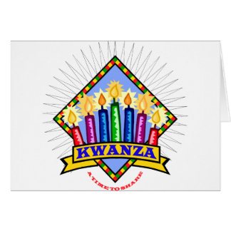 Kwanzaa Tarjeta De Felicitación
