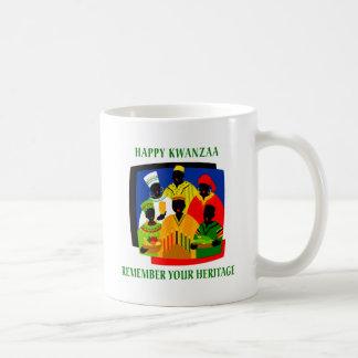 Kwanzaa Tazas