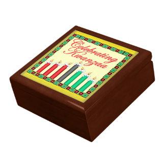 KWANZAA TRINKET BOX