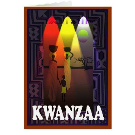 Kwanzaa , ttribal family card
