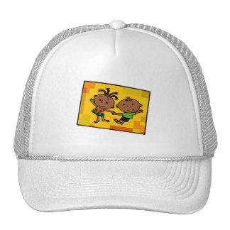 Kwanzaa Twins Hats